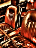 Classic Car Interior in Copper Photographic Print by Paula Iannuzzi