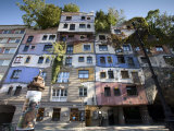 Hundertwasserhaus, Vienne, Autriche Photographie par Doug Pearson