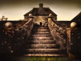Stone Stairway Photographic Print by Jody Miller