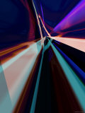 Abstract Color Streaks Photographic Print by Paul Cooklin