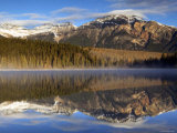 Pyramid Lake, Jasper National Park, Alberta, Canada Photographic Print by Walter Bibikow