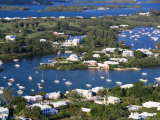 View from Gibbs Hill Overlooking Southampton Parish, Bermuda Photographic Print by Gavin Hellier