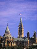 Canadian Parliament, Ottowa, Ontario, Canada Photographic Print by Walter Bibikow