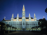 Rathaus, Vienna, Austria Photographic Print by Gavin Hellier