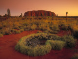 Ayers Rock, Northern Territory, Australia Photographic Print by Doug Pearson