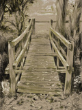 Thornham Bridge Sketch Photographic Print by Tim Kahane