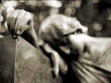 Cemetery Statues, no. 2 Photographic Print by Katrin Adam