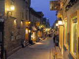 Rue de Petit, Champlain, Quebec City, Quebec, Canada Photographic Print by Demetrio Carrasco