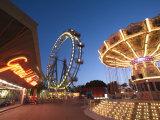 Giant Ferris Wheel, Prata Amusement Park, Vienna, Austria Photographic Print by Doug Pearson