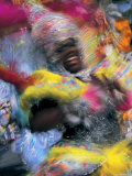 Junkanoo Fesitival, Providence Island, Bahamas, Caribbean Photographic Print by Peter Adams