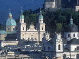 Cathedral at Alt Stadt, Salzburg, Austria Photographic Print by Jon Arnold