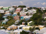 Traditonal Bermuda Houses Photographic Print by Gavin Hellier