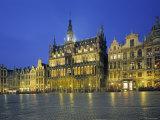 Musee de La Ville, Grand Place, Brussels, Belgium Photographic Print by Jon Arnold