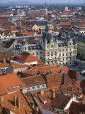 Town Hall, Graz, Styria, Austria Photographic Print by Walter Bibikow
