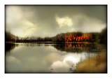 Autumn Lake Photographic Print by Mia Friedrich
