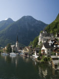 Hallstatt and Hallstatter See, Salzkammergut, Austria Photographic Print by Demetrio Carrasco