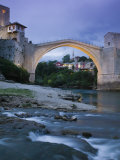 The Old Bridge, Mostar, Bosnia and Herzegovina Photographic Print by Walter Bibikow