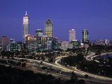 Perth Skyline, Western Australia, Australia Photographic Print by Gavin Hellier
