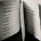 Detail of Page Music Photographic Print by Edoardo Pasero