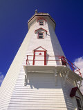 East Point Lighthouse, Prince Edward Island, Canada Photographic Print by Walter Bibikow