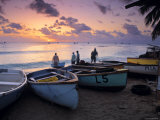 West Coast of Barbados, Caribbean Photographic Print by Doug Pearson