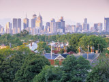 Skyline of Melbourne, Victoria, Australia Photographic Print by Doug Pearson