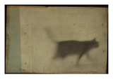 Blurred Cat Walking Photographic Print by Mia Friedrich