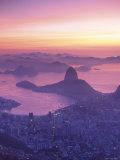 Sugar Loaf Mountain, Rio de Janeiro, Brazil Photographic Print by Peter Adams