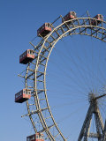 Giant Ferris Wheel, Prata Amusement Park, Vienna, Austria Photographic Print by Doug Pearson