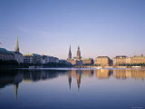Alster River, Hamburg, Germany Photographic Print by Danielle Gali