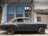 1950s American Car, Havana, Cuba Photographic Print by Peter Adams