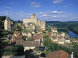 Castlenaud Castle, Dordogne, France Photographic Print by Danielle Gali