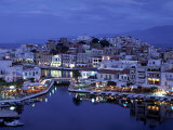 Agios Nikolaos, Lasithi Province, Crete, Greece Photographic Print by Doug Pearson