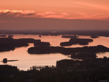 Lakes and Islands, Kuopio, Eastern Lakeland, Finland Photographic Print by Doug Pearson