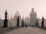 Charles Bridge, Prague, Czech Republic Photographic Print by Jon Arnold