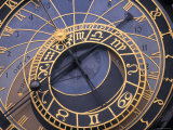 Astronomical Clock, Old Town Hall, Prague, Czech Republic Photographic Print by Jon Arnold