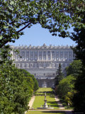 Palacio Real, Madrid, Spain, Photographic Print