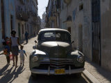 1950s American Car, Havana, Cuba Photographie par Peter Adams