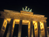 Brandenburg Gate, Berlin, Germany Photographic Print by Walter Bibikow