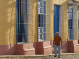 Street Scene in Trinidad, Cuba Photographic Print by Peter Adams