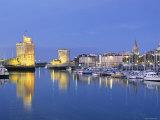 Old Harbour, La Rochelle, Poitou Charentes, France Photographic Print by Doug Pearson
