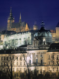Castle and St Vitus Cathedral, Prague, Czech Republic Photographic Print by Jon Arnold