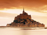 Mont St. Michel, Manche, Normandy, France Fotografie-Druck von Doug Pearson