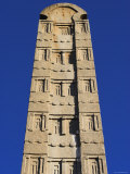 Apex of Stelea, King Ezana's Stele, Northern Stelae Park, Aksum, Ethiopia Photographic Print by Jane Sweeney