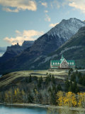 Prince of Wales Hotel, Waterton Lakes National Park, Alberta, Canada Photographic Print by Walter Bibikow