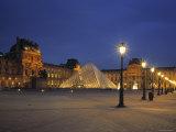 Le Louvre, Paris, France Photographic Print by Jon Arnold