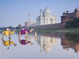 Taj Mahal, Agra, Uttar Pradesh, India Photographie par Doug Pearson