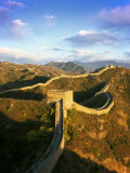 Jinshanling Section, Great Wall of China, Near Beijing, China Fotoprint van Gavin Hellier