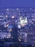 Old Town, Prague, Czech Republic Photographic Print by Jon Arnold