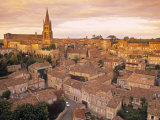 St. Emilion, Gironde, Aquitaine, France Photographic Print by Doug Pearson